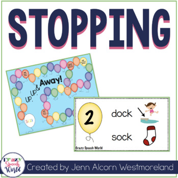 Stopping Game for Speech Therapy