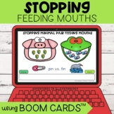 Stopping Feeding Mouths | Boom Cards™ | Minimal Pairs | Te
