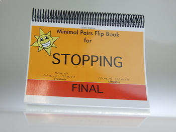 Stopping Final: Minimal Pair Flip Book Game