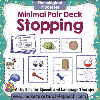 Stopping - Minimal Pairs Deck