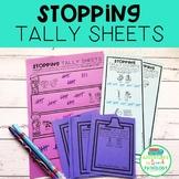 Stopping Minimal Pairs Tally Sheets