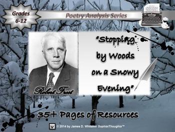 Stopping by Woods on a Snowy Evening by Robert Frost Poem Analysis