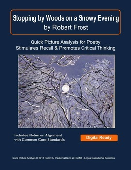 """""""Stopping by Woods on a Snowy Evening"""" by Robert Frost: Quick Picture Analysis"""