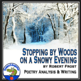 Stopping by Woods on a Snowy Evening by Robert Frost PowerPoint