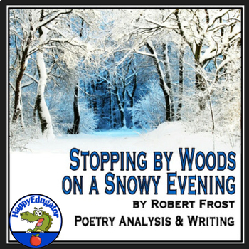 Stopping By Woods On Snowy Evening Worksheets Teaching Resources Tpt