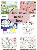 Stops Articulation Mega Bundle- K, G, P, B, T, D- NO PRINT, NO PREP