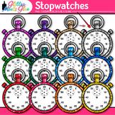 Stopwatch Clip Art: Measurement Tool Graphics {Glitter Meets Glue}