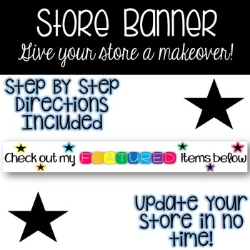 Store Banner - Colorful