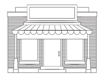Store Coloring Pages