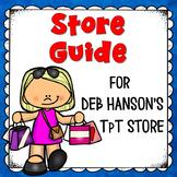 Store Guide for Deb Hanson