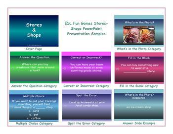 Stores-Shops PowerPoint Presentation