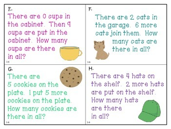 Stories About Joining - First Grade enVision Math