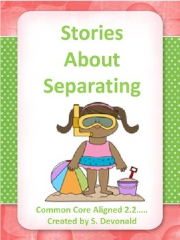 Subtraction Word Problems: Stories About Subtraction