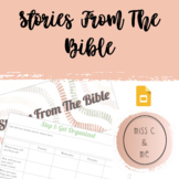 Stories From The Bible Religion Differentiated Reading Comprehension Response