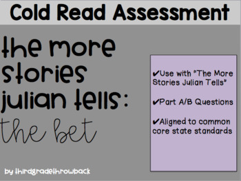 More Stories Julian Tells Cold Read Assessment