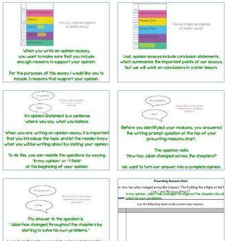 Stories Julian Tells Flipchart Lessons 20-22
