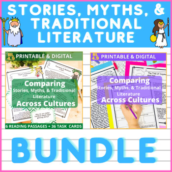 Stories, Myths, & Traditional Literature Across Cultures BUNDLE!