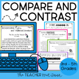 Compare and Contrast: Print & Digital for Google Classroom™ | Distance Learning