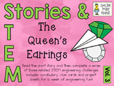 Stories & STEM ~ The Quen's Earrings ~ 3 STEM Challenges using Parachutes