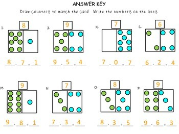 Stories about Taking Away -First Grade enVision Math