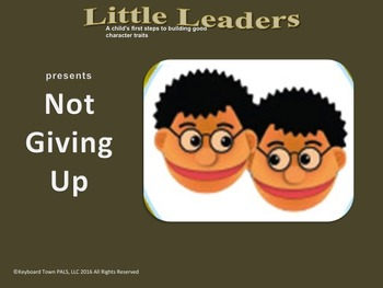 """""""Not Giving Up"""" teaches kids the importance of practice an"""