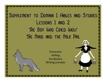Engage NY 1st grade Stories and Fables The Boy Who Cried Wolf and more