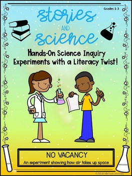 Stories and Science NO VACANCY!