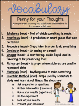 Stories and Science PENNY FOR YOUR THOUGHTS!