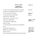 Story for Level 1 Spanish #2  ¿Quién eres, Valdez?