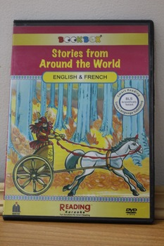 Stories from Around the World- Bilingual in French & English- 3 stories