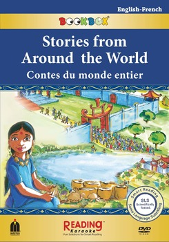 Stories from Around the World- Bilingual in French & English-5 stories