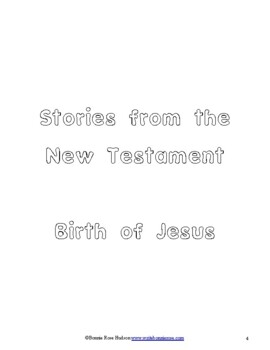 Stories from the New Testament Coloring Book-Level B
