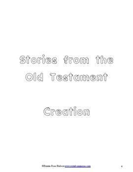 Stories from the Old Testament Coloring Book-Level B
