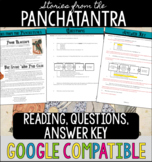 Stories from the Panchatantra Primary Source Reading - Dis