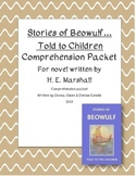 Stories of Beowulf...Told To Children Comprehension Packet