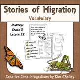 Stories of Migration Unit 5 Lesson 22 Vocabulary