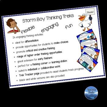 Australia: Storm Boy Thinking Task Cards