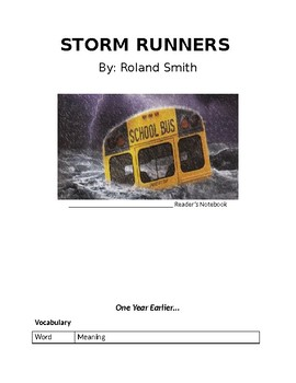Storm Runners Novel Packet