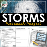 Hurricane or Tornado Research Project - Storm Chaser Journal