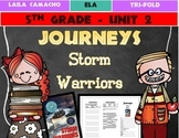 Journeys Grade 5 Trifold (Storm Warriors)