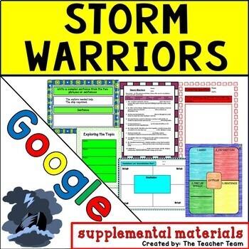 Storm Warriors Journeys 5th Grade Unit 2 Lesson 9 Google Digital Resource