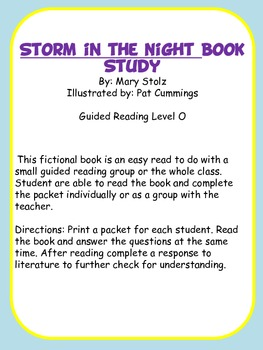 Storm in the Night Book Study