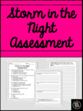 Storm in the Night Comprehension Assessment Ready Gen Third Grade