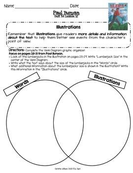 2014 Paul Bunyan Readygen 3rd Grade Unit 3 Module A Lesson 12