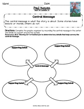 2014 Paul Bunyan Readygen 3rd Grade Unit 3 Module A Lesson 14
