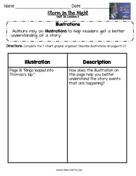 2014 Storm in the Night Readygen 3rd Grade Unit 3 Module A Lesson 6