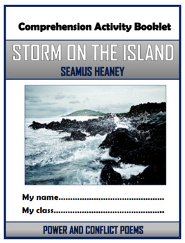 Storm on the Island - Comprehension Activities Booklet!