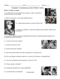 Storm that Swept Mexico Movie Guide. Mexican Revolution in Spanish & English