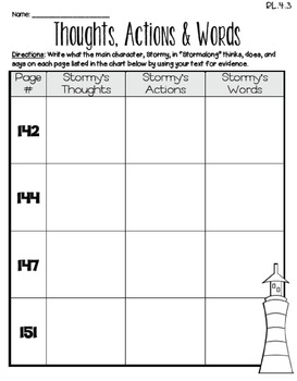 Stormalong (Journeys 4th Grade - Supplemental Materials)