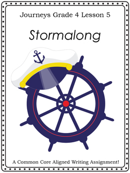 Stormalong--Writing Prompt-Journeys Grade 4-Lesson 5